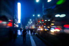 Latarnie uliczne Ulan-Bator Fotografia Stock