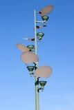latarniowa nowożytna ulica Zdjęcie Royalty Free
