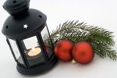 latarniowa piłki czerwień dwa Fotografia Stock