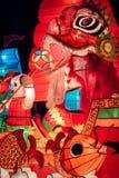Latarniowa postać Obrazy Royalty Free