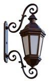 latarniowa stara ulica Zdjęcia Royalty Free