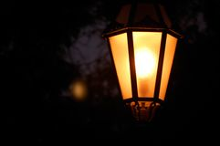 latarniowa ulica Zdjęcie Stock