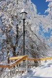 latarniowi schodki Fotografia Royalty Free