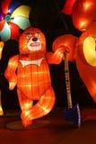 Latarniowy przedstawienie w Chengdu, porcelana Zdjęcia Stock