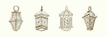 latarniowy Ramadan Zdjęcie Stock