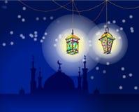 latarniowy Ramadan Obraz Royalty Free
