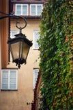 latarniowy uliczny rocznik Obraz Royalty Free