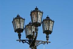 latarniowy uliczny rocznik Zdjęcia Stock