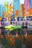 2016 latarniowych festiwali/lów w Chengdu, porcelana Fotografia Stock