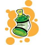 Latas de aerosol Imágenes de archivo libres de regalías