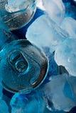 Sob o gelo Fotografia de Stock