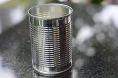 Latas de aluminio Fotografía de archivo