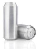 latas de cerveza del aluminio de 500 ml Foto de archivo