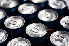 Latas de soda Imagem de Stock Royalty Free