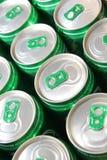Latas de soda Fotografia de Stock Royalty Free