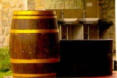 Latas del vino Fotos de archivo libres de regalías