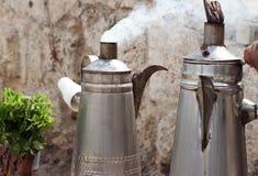 Latas do chá Fotografia de Stock