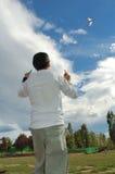 latawiec chłopca zdjęcie royalty free