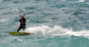 latawiec surfera Obraz Royalty Free