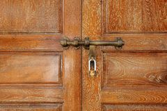 Latch on the door Stock Photography
