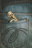 Latch, Hasp,vintage  old metal latch Royalty Free Stock Photo