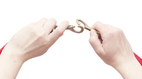 Latch hook Royalty Free Stock Image