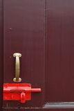 Latch lock Royalty Free Stock Photo