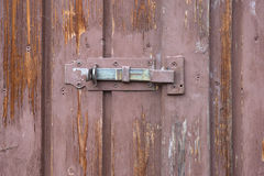 Latch on an old shed Stock Images
