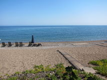 Latchi beach in Cyprus Royalty Free Stock Image