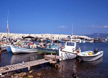 Latchi Harbour, Cyprus. Royalty Free Stock Image