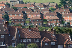 Late 20th Century housing. Late 20th Century housing estate in Whitby, Yorkshire, England Stock Photos