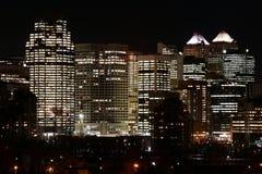 Late. Night in a metropolis Stock Photo