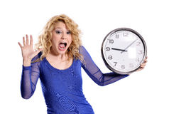 It is late! Stock Images