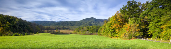 Late Afternoon in Cade's Cove, TN Stock Photography