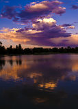 Late Afternoon at City Park, Denver Royalty Free Stock Image