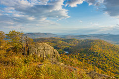Fall Foliage Viewing Royalty Free Stock Photography