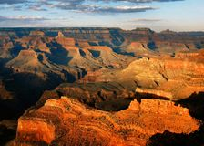 Late Afternoon, Grand Canyon Royalty Free Stock Image
