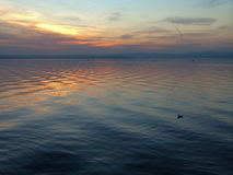 Late afternoon at Lake Garda Royalty Free Stock Photo
