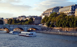 Late afternoon in Paris Royalty Free Stock Photography