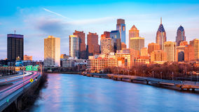 Late afternoon in Philadelphia Stock Photography