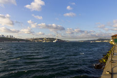 Late afternoon photo of Istanbul city Royalty Free Stock Photos