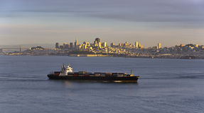 Late afternoon, San Francisco Bay Royalty Free Stock Photography