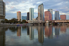 Late afternoon Tampa, Florida Stock Photo