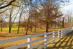 Late Autumn at countryside. Royalty Free Stock Images