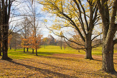 Late Autumn at countryside. Royalty Free Stock Photos