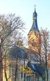Late autumn in old city park, Dubulti, Jurmala, Latvia Stock Photography