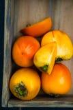 Late Autumn Orange Harvest Fruits and Vegetable Stock Photos