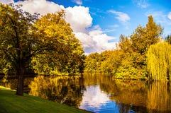 Late autumn scene Royalty Free Stock Photography