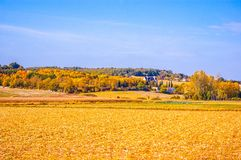 Late autumn scene in the Western Europe Stock Images