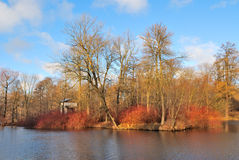 Late Autumn in St. Petersburg Stock Photo